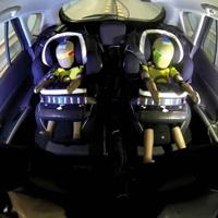 autostoel test kussens