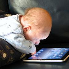 baby op tablet babyswipen