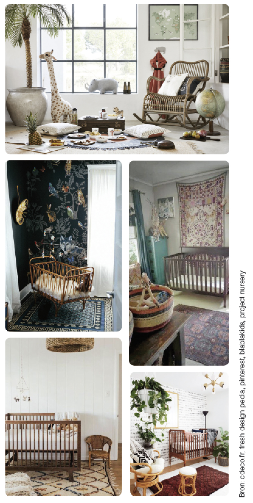 babykamer kinderkamer trends boho en tribal