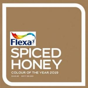 Trendkleur flexa 2019 spiced honey
