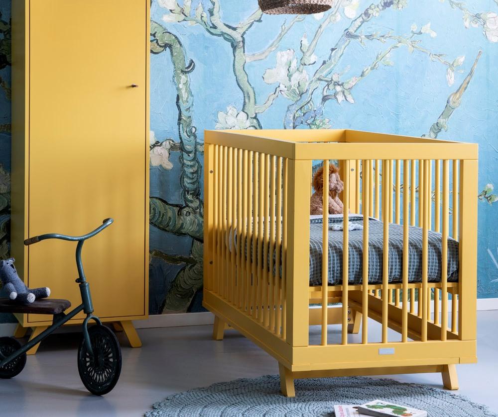 kleuren babykamer geel