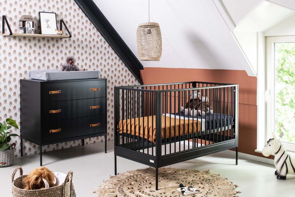 kleuren babykamer zwart