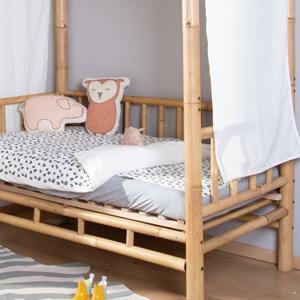 bamboe bed kinderkamer childhome