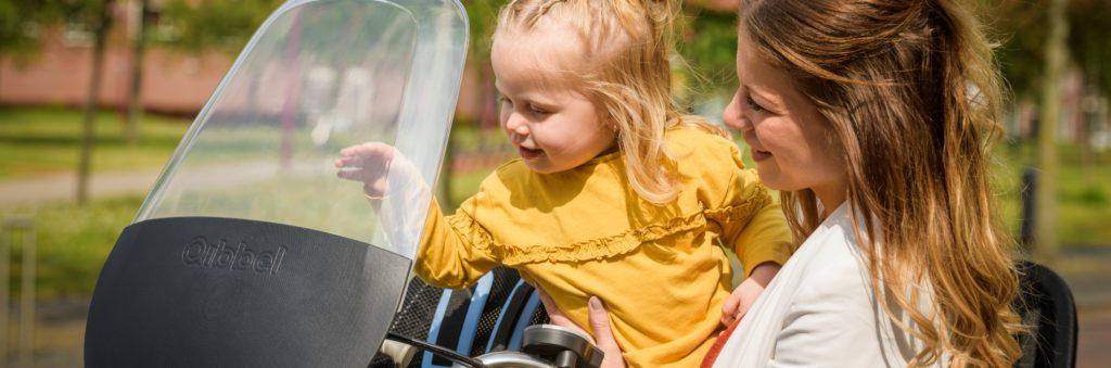 qibbel air fietsstoeltje voor