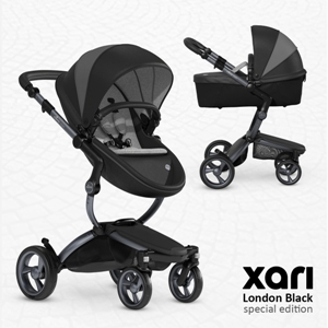 mima xari london black kinderwagen