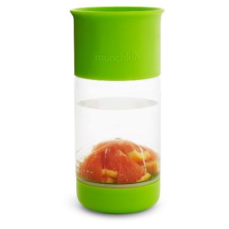 360 graden beker met fruit infuser