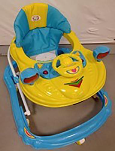 helian loopstoeltje veiligheidswaarschuwing
