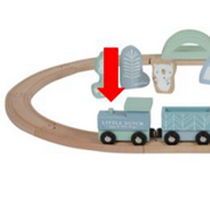 veiligheidswaarschuwing trein little dutch