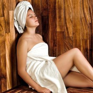zwanger sauna