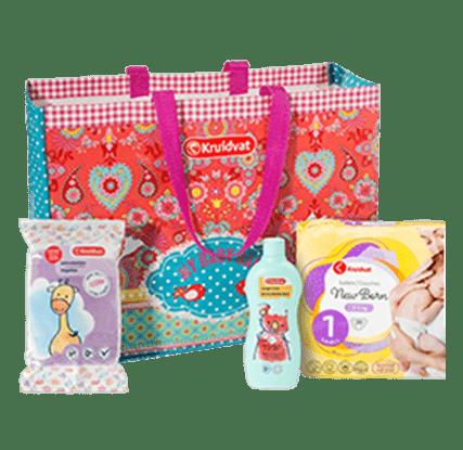 kruidvat blije baby voordeeltas gratis