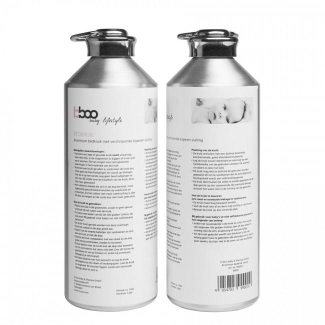 bboo aluminium kruik veiligheidswaarschuwing